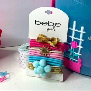 🔥5/$25🔥 BEBE Hair crumbs set girl